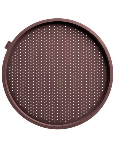 Perforated silicone baking tray for...