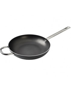 High frying pan with handle...