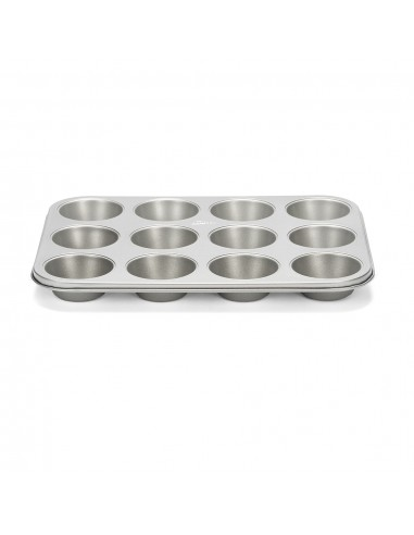 Stampo per 12 muffin Silver Top Patisse