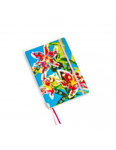 Notebook big Flowers with holes Seletti