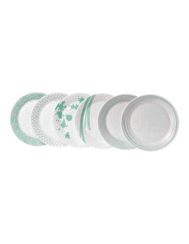 Pacific Mint Dinner Plates (Set of 6)...