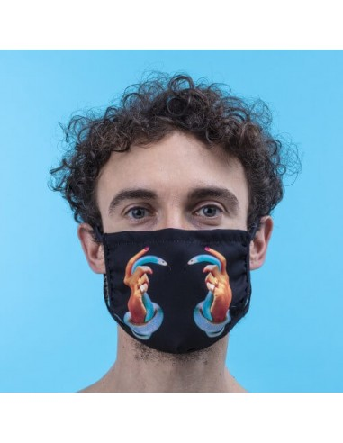 Seletti Facemask Hands with Snakes M/L