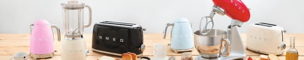 Weiss Gallery - Smeg - Magimix - elettrodomestici di desing
