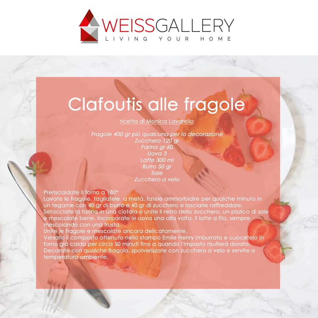 clafoutis alle fragole weiss gallery